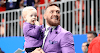 Mixed martial arts celebrity Conor McGregor publicizes retirement