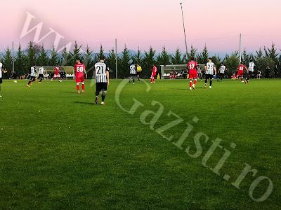 Final de meci in cel de-al doilea amical al Gazului in Turcia