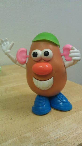 Ot Cafe Approved Toy . Potato Head