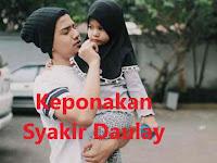 Keponakan  Syakir Daulay Imut-Imut