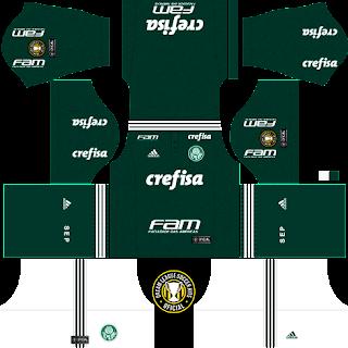 Dream League Soccer Kits  Palmeiras (Titular) 18 19 - DLS18   FTS ... c6260379907b8