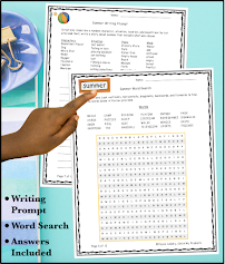 Camp fun with logic puzzles for kids in June, July, or August fun. Critical thinking skills are awesome! #edu #teacher #teacherresources #parents #summeractivities