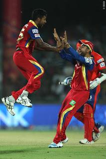 DD vs RCB 26th Match IPL 2015 Highlights