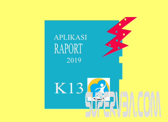 Kesalahan Besar pada Aplikasi Raport K13 SD Revisi 2019 yang diberi Password