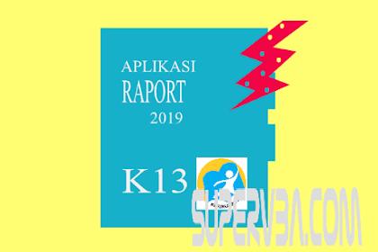 Kesalahan Besar pada Aplikasi Raport K13 SD Revisi 2019 yang dikunci dengan Password