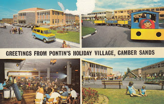 Greetings from Pontin's Holiday Village, Camber Sands. Photo Precision Limited. Posted on 14 July 1975