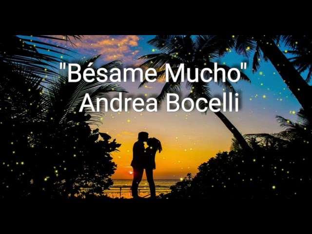 Besame Mucho Lyrics In English