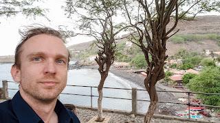 Cape Verde in background