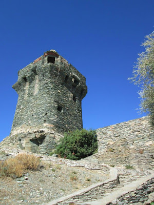 Tour paoline de Nonza (Haute-Corse)