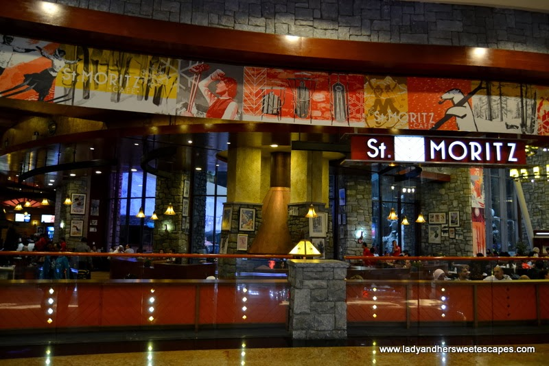 St. Moritz Cafe at Mall of the Emirates