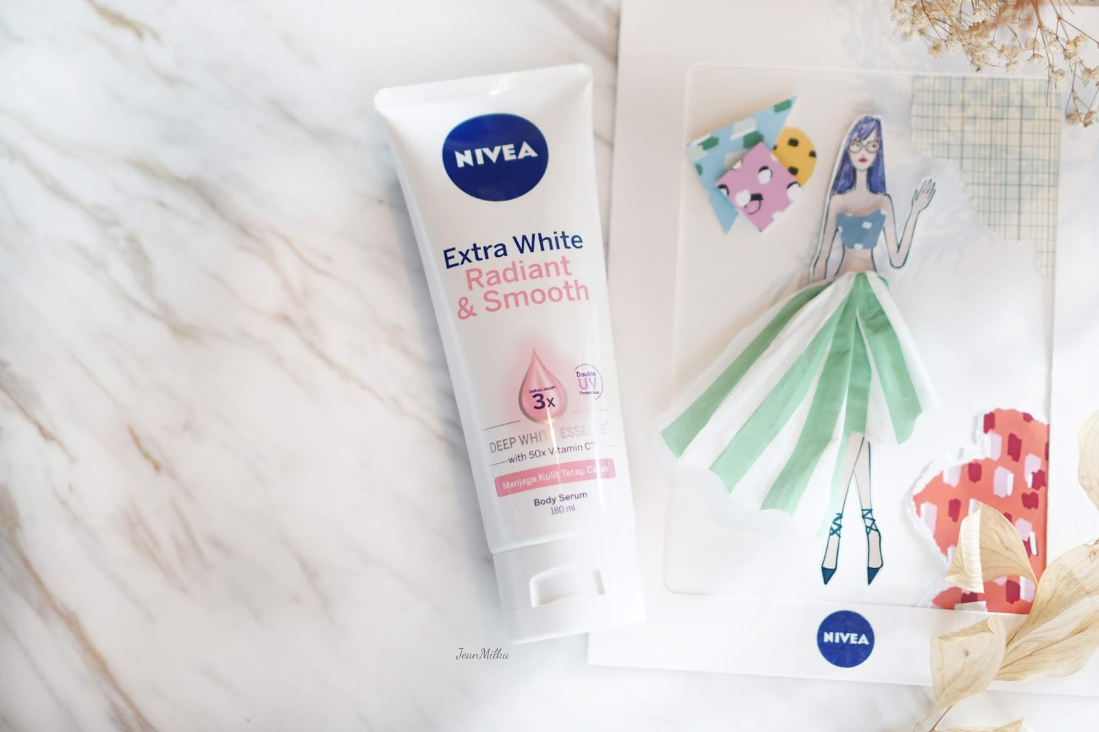 nivea, nivea indonesia, nivea body serum, lotion, body lotion, body serum, nivea body lotion, review, review nivea