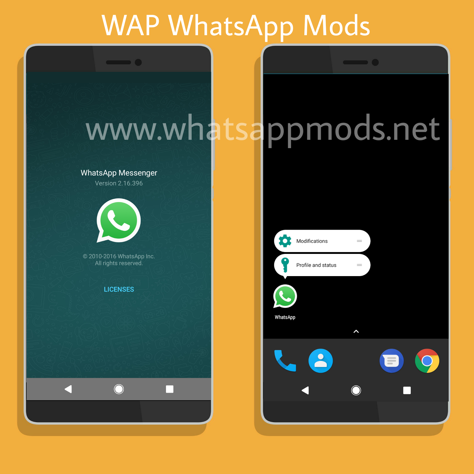 WAP WhatsApp v5.0 Latest Version By Peter [Fast Secure Stable Mod]