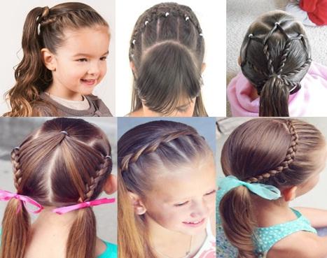 12 Peinados Para Ninas Paso A Paso Muy Bonitos Y Faciles De Hacer