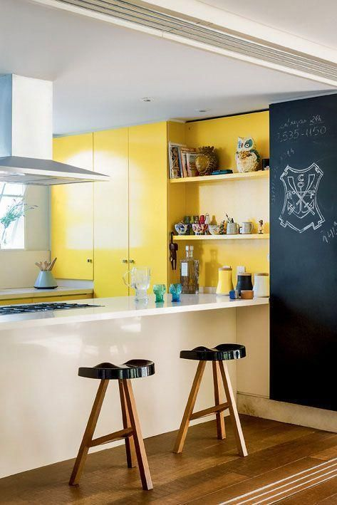 Colorful Kitchens That Always Look Great