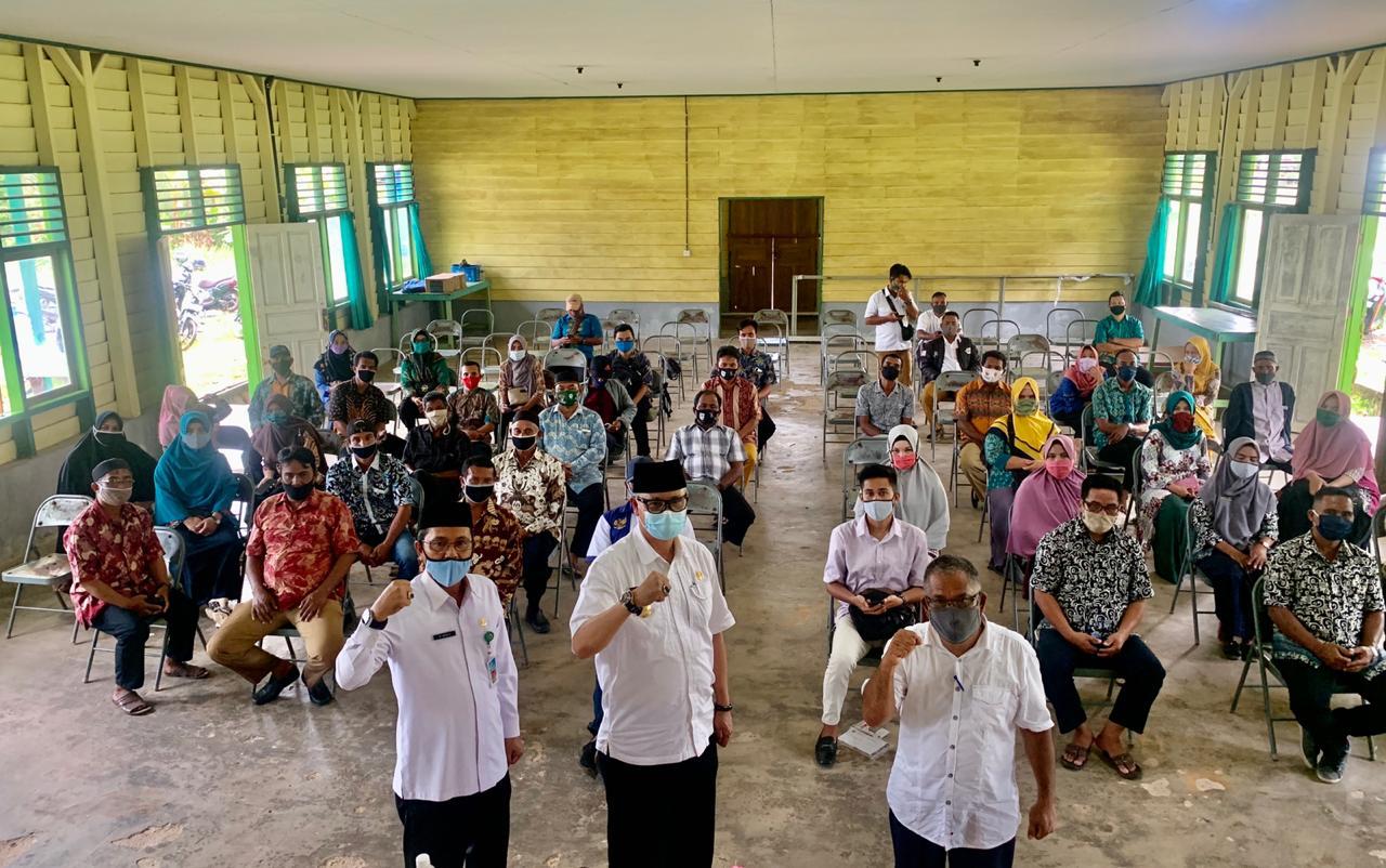 Pjs Bupati Lingga Silaturahmi Ke Lingga Timur