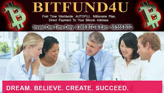 SETTING-UP SIMPLE UNLIMITED  BTC MINING AUTO PILOT SYSTEM WITH BITFUND4U. &Earn 55,555 BTC
