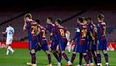 تشكيلة برشلونة لمواجهة دينامو كييف