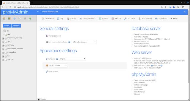 Install MySQL with phpMyAdmin on Ubuntu