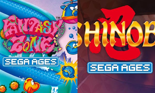 SEGA Ages (Switch): Shinobi e Fantasy Zone chegam em janeiro às Americas