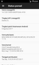 Rom Lineage OS 14 Beta 1 Lenovo A369i