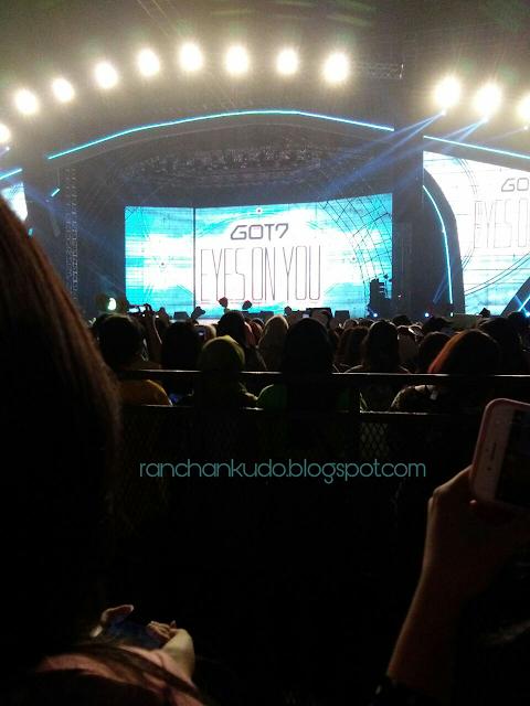 Konser GOT7 di Jakarta