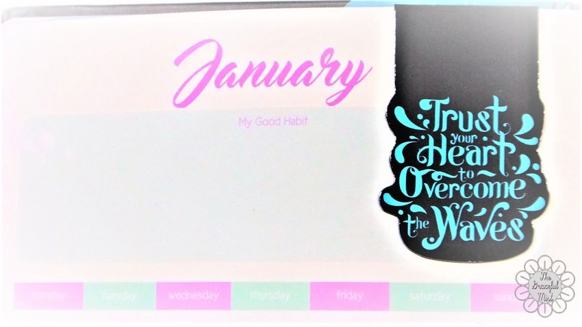 Mid-Year Review: 2017 Belle De Jour Power Planner (Viviamo! Inc.)   by @TheGracefulMist (www.TheGracefulMist.com) - Beauty, Books, Fashion, Lifestyle and Travel Blog/Website - Top Blogs and Websites in the Philippines - Monthly Planner Spreads