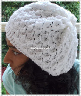 girl crochet headwear