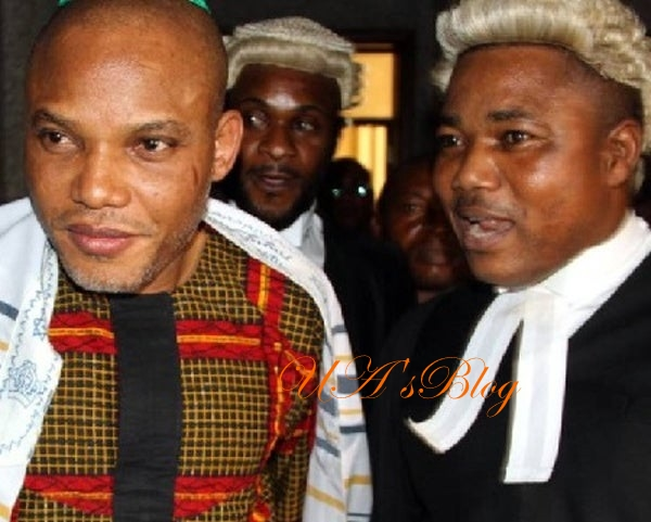 JUST IN: Nnamdi Kanu's Lawyer, Ejiofor Sues Police Over Alleged Invasion, Demands N2bn