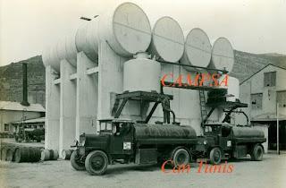 Instalaciones de CAMPSA en Can Tunis (1930)
