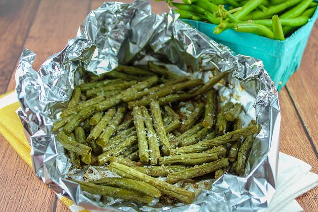 Air Fryer Italian Green Beans