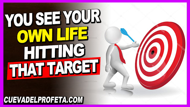 You see your own life hitting that target - William Marrion Branham