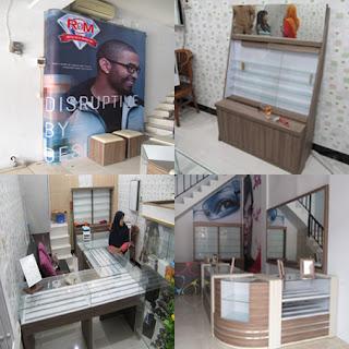 Pesan Furniture Produksi Cepat + Etalase Display