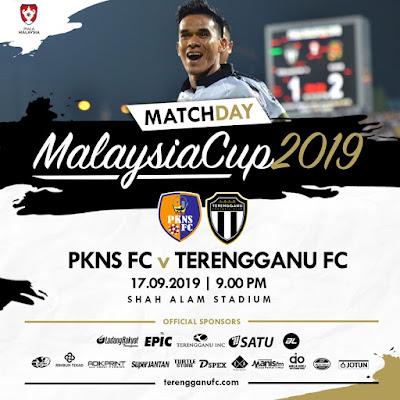 [LIVE] Pkns vs Terengganu (Piala Malaysia) 17.9.2019