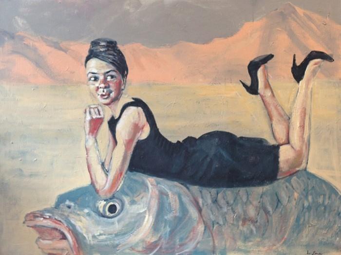 Канадский художник. Eva Lewarne