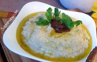 حمص بالطحينة من المطبخ الشامي