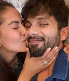 Shahid Kapoor With His Wife