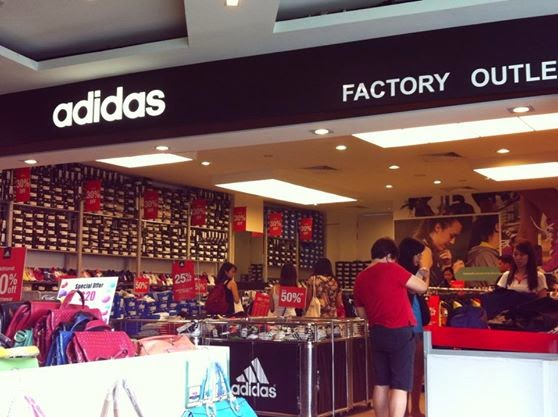 Adidas Factory Outlet Changi City Point Singapore