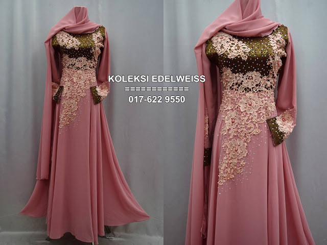 baju songket pink belacan
