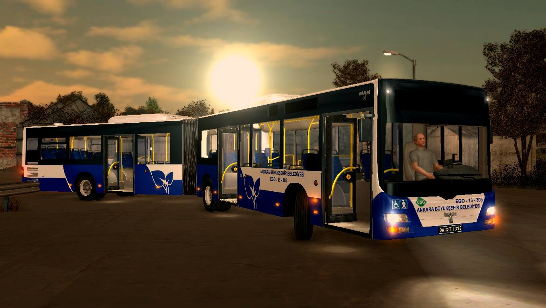 City Bus Simulator 2012 München Ankara Ego Skin Boyama Emrecan