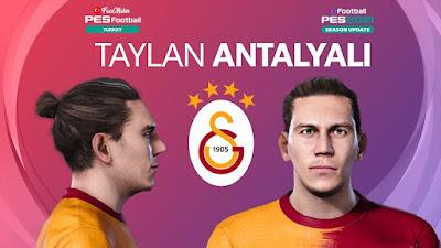 PES 2021 Faces Taylan Antalyalı by PES Football Turkey