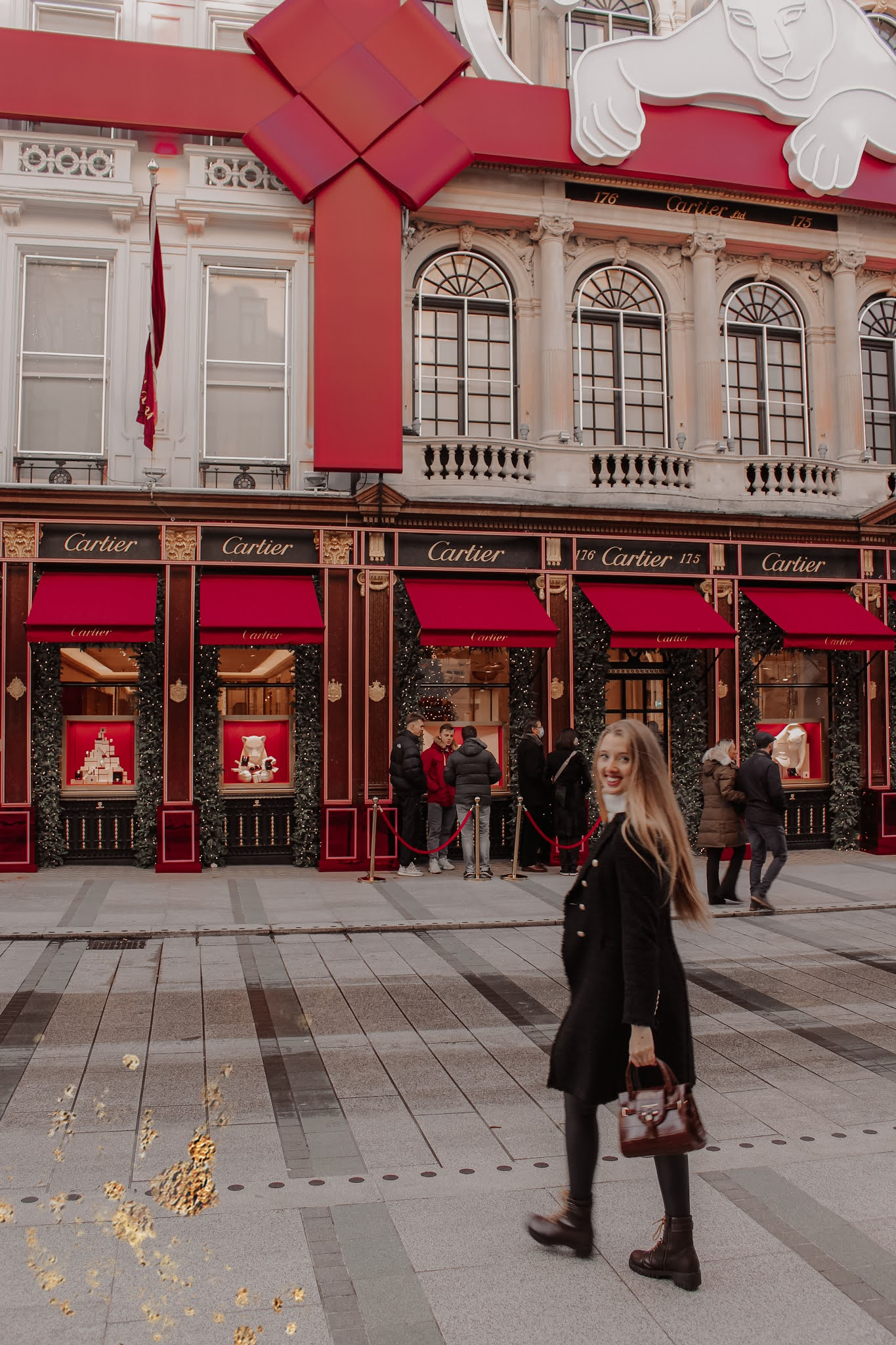 Cartier London Christmas Decorations 2020