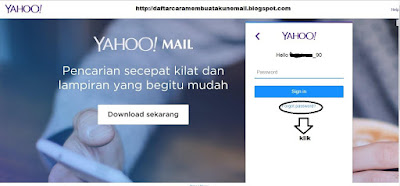 LUPA PASSWORD YAHOO MAIL INDONESIA