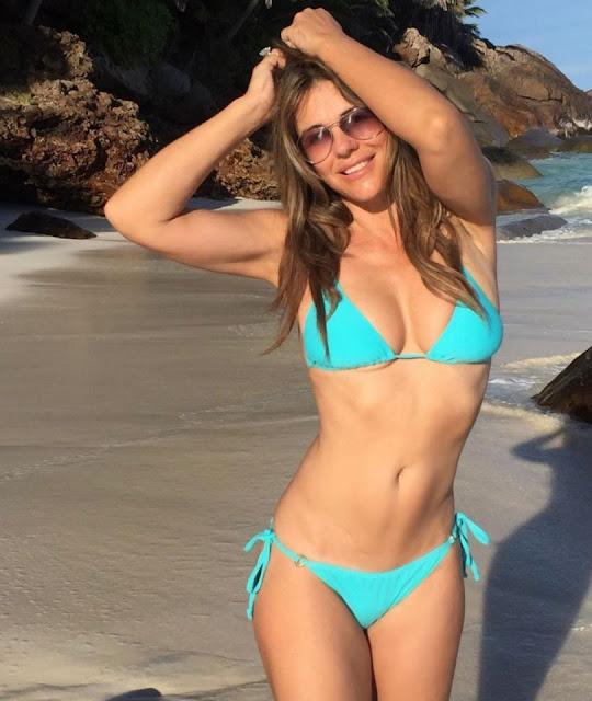 Elizabeth Hurley in bikini