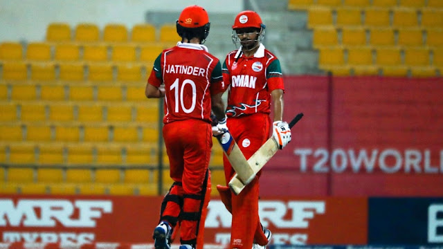Oman qualified for the ICC T20 World Cup 2020