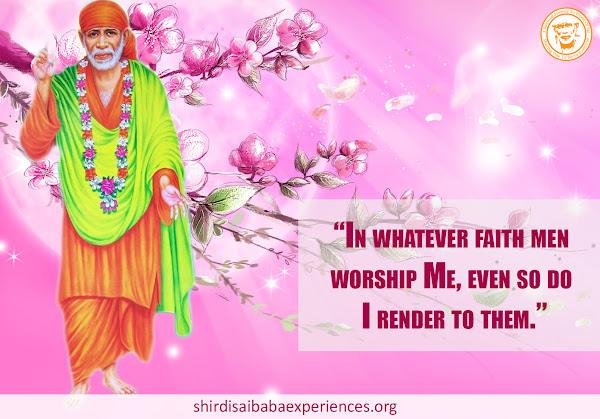 Realised Power Of A Namaskar To Sai Baba - Experience Of Sangeetha