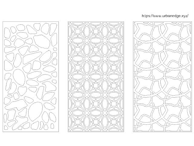 Jali design free cad block download - CNC, MDF, GRC, PVC Jali