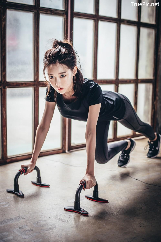 Image Korean Fashion Model - Yoon Ae Ji - Fitness Set Collection - TruePic.net - Picture-10
