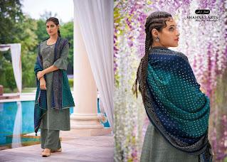 Shahnaz Arts Gulmohar Vol  4 Pashmina Suits Collection