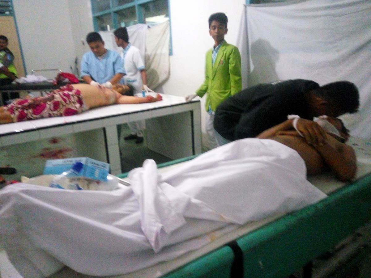 Korban kecelakaan saat di Rumah Sakit