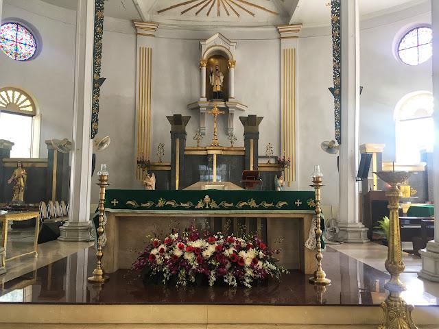 st. francis xavier church bangkok interior altar